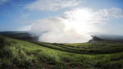 Volcano Masaya Stock Footage
