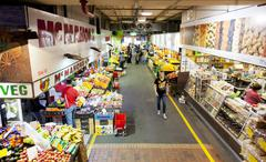 Stock Photo of Adelaide Central Market