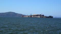 Alcatraz Prison Stock Footage