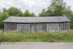 Old Worn Barn Stock Photos