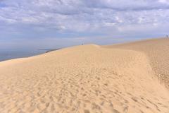 Dune of Pilat in France Stock Photos