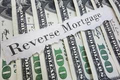 reverse mortgage - stock photo