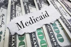 Medicaid headline - stock photo
