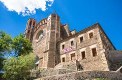 Sant Joan les Fonts - stock photo