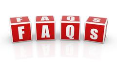 Faqs - stock illustration