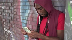 Young Urban Male Stock Footage