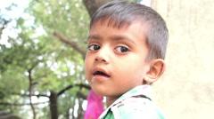 Indian boy. Delhi. India. 2015 Stock Footage