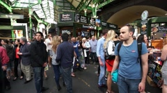 London Borough Market - stock footage