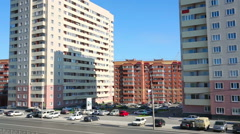 Morning in Novosibirsk Stock Footage