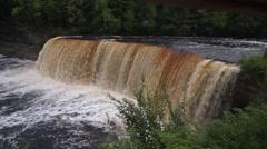 Tahquamenon Falls, Paradise, Michigan Stock Footage