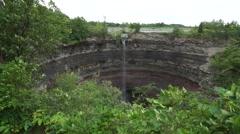 Devil's Punch Bowl Falls, Hamilton, Ontario, Canada Stock Footage