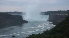 Horseshoe Falls, Niagara Falls, Ontario, Canada - stock footage