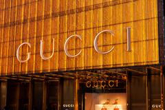 Gucci store - stock photo