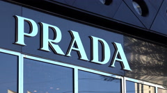 Prada store in Las Vegas 4k Stock Footage