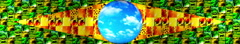Brazil Stylish Flag 5720x1080px Stock Footage