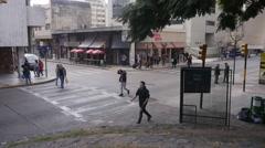Cordoba Center, time lapse, Argentina Stock Footage
