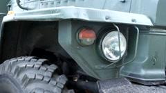 Military Trucks Stock Footage