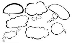 Group speech bubble Stock Illustration