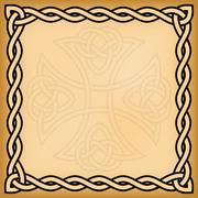 Celtic background Stock Illustration