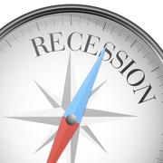 Stock Illustration of compass recession