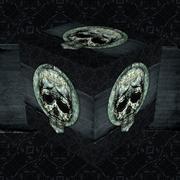 Stock Illustration of Skull Decorative Dark Cube