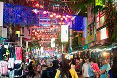 Petaling Street, Kuala Lumpur - stock photo