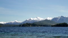 View of Nahuel Huapi National Park Stock Footage