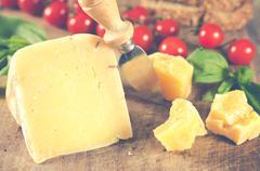 Dry cheese Stock Photos