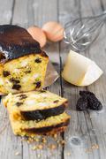 Homemade cake - stock photo