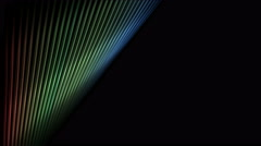 4k Abstract metal wire line stage,fiber machine probe background,music rhythm. Stock Footage