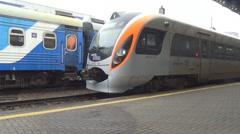 Fast train, Inter City Stock Footage
