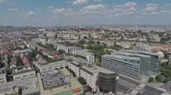 AERIAL Budapest, Hungary, Europe, city Stock Footage