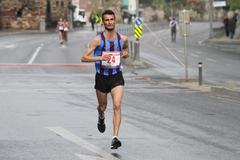 10th Istanbul Half Marathon Stock Photos