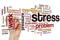 Stress word cloud Kuvituskuvat