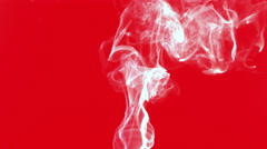 Colorful Smoke Abstract Elegant Style Turbulance Effect Stock Footage