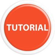 Button tutorial Stock Illustration