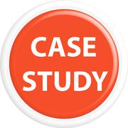 Button case study - stock illustration