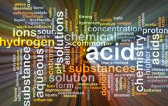 Acid background concept glowing - stock illustration