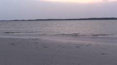 Sunset Cove - Beautiful South Carolina - stock footage