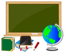 School accesories Stock Illustration