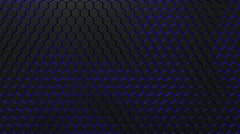 3d alive texture of a honeycomb Stock Footage