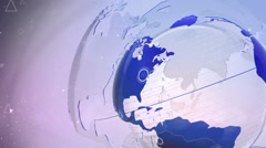 Motion Earth Background 106 - stock footage