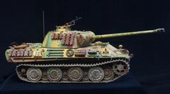 German heavy tank of WWII. model Kuvituskuvat