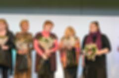 Fashion show theme blur background - stock photo