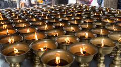 Buddhist religious items Stock Photos