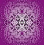 Seamless pattern purple gray - stock illustration