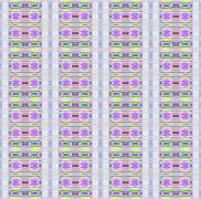 Seamless pattern gray purple - stock illustration