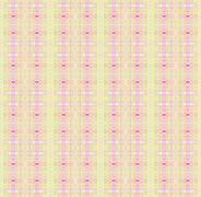 Seamless pattern pink pastel green - stock illustration