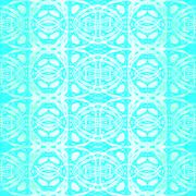 Seamless pattern turquoise white Stock Illustration