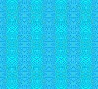 Seamless pattern blue turquoise Stock Illustration